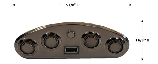Mulin Electric Switch Mlsk35 D Left L 5 Button Power Recliner Switch Usb Ebay