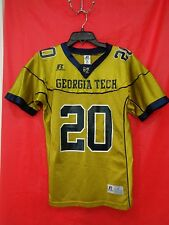 BEAUTIFUL GT RUSSELL ATHLETIC JERSEY YOUTH Sz  M Team issued shirt MULTI color
