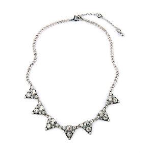 Collier-Argente-Fin-Art-Deco-Triangle-Cristal-Fin-Mariage-Original-AZ-1