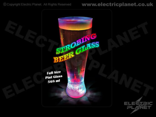 Gift Boxed Beer Glass With 3 Lighting Modes Light-Up LED Pint Glass