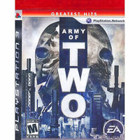 Army Of Two Greatest Hits Ps3