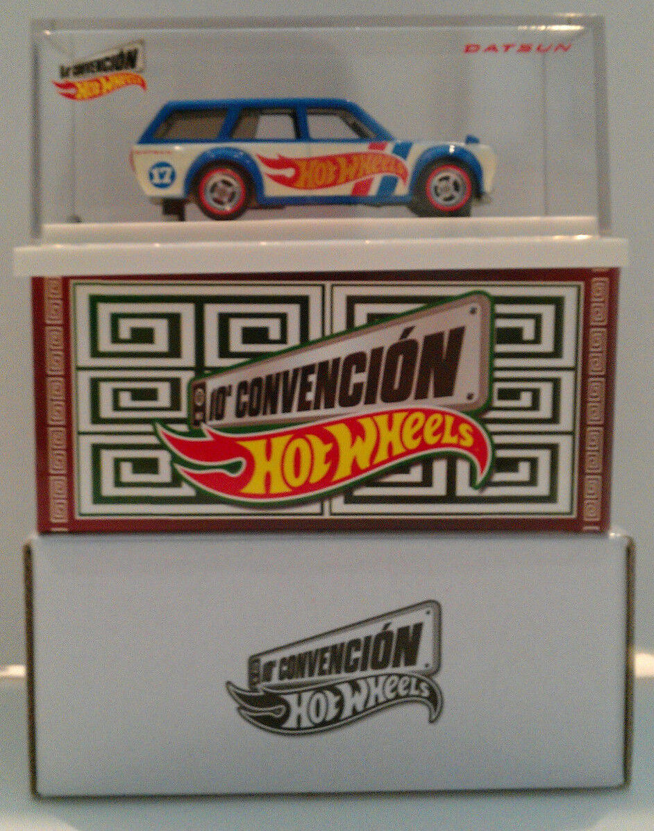 HOT WHEELS 2017 MEXICO CONVENTION '71 DATSUN blueEBIRD 510 WAGON
