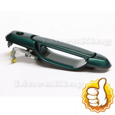 Outside Door Handle For 98-03 Toyota Sienna Classic Green Pearl 6P2 Rear L or R