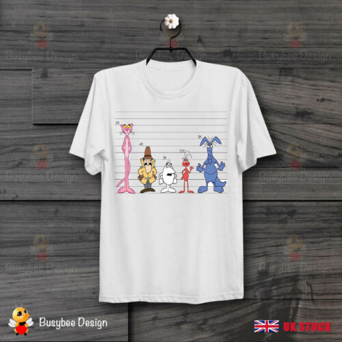 Pink Panther Height Comparison Chart Retro CooL Vintage Unisex T Shirt  B48