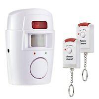 Alarme sans fil Infrarouge Détecteur de Mouvement Sirène 105 dB Sécurité Maison
