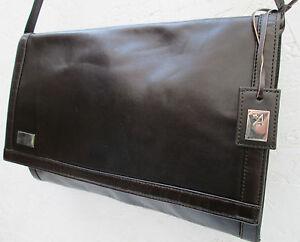 -AUTHENTIQUE sac à main ou pochette  ASSIMA   cuir TBEG vintage bag