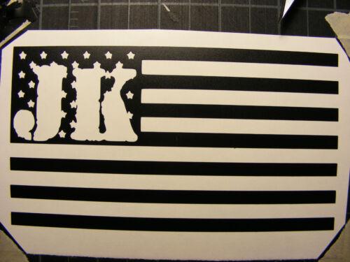 Jeep Decal  JK  Vinyl  Decal Sticker