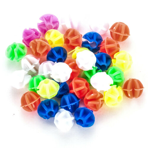 New Bicycle Bike Wheel Plastic Spoke Bead Children Kids Clip Colored Decoration