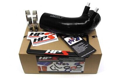 HPS Black 4-Ply Silicone Air Intake Hose Kit Post MAF Tube Lexus 08-13 ISF IS-F