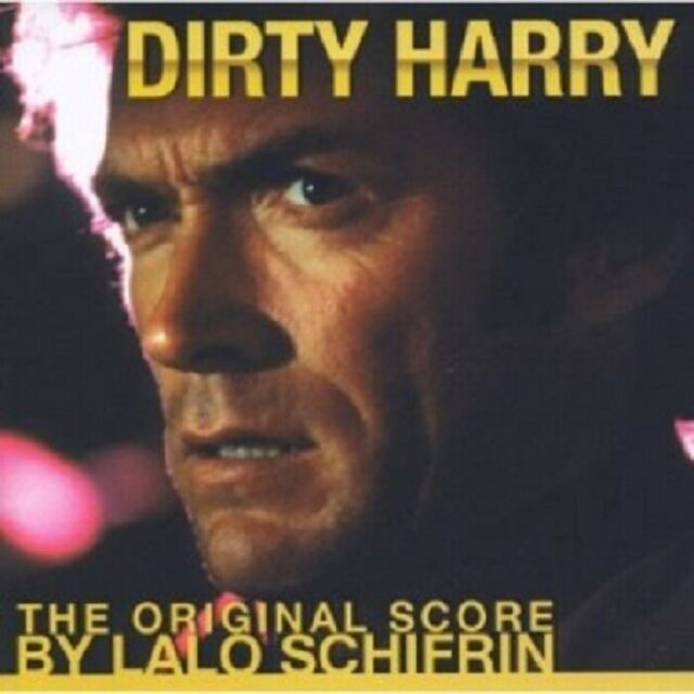 LALO SCHIFRIN / OST - DIRTY HARRY  CD  22 TRACKS SOUNDTRACK  NEW