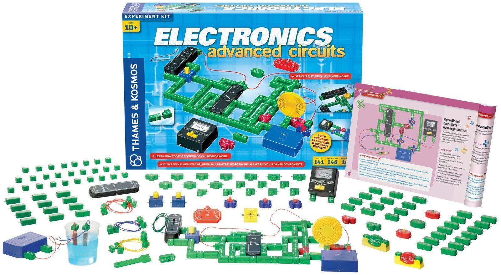 Thames & Kosmos Kosmos Kosmos Electronics Advanced Circuits Educational Science Kit 365db6