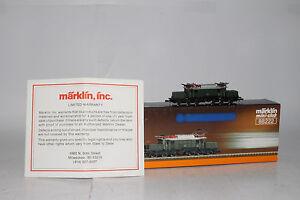 MARKLIN-Z-SCALE-88222-CROCODILE-KROKODIL-ENGINE-DB-CLASS-E-94-METAL