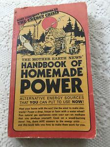 Mother Earth News Handbook Homemade Power Homesteading