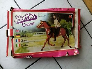 Barbie-Pferd-034-Dancer-034-von-Mattel-70-er-Jahre-im-original-Karton-alt-und-schoen
