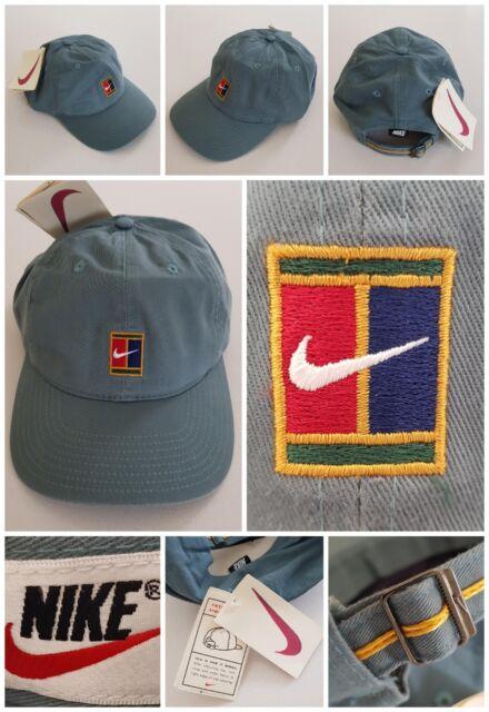 7dec79734a8 Nike Supreme Court 90s VTG Sampras Tennis Cap Hat Challenge Agassi Federer  OG DS