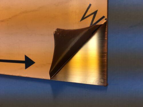"Stainless Steel Sheet SS 304 20 Ga 0.035 to 0.039 Size 8.5/"" X 5.5/"" Brush #4"