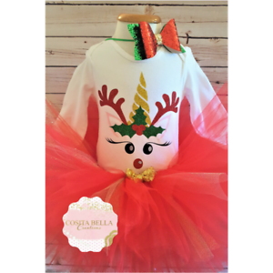Christmas Tutu Outfits.Details About Red And Gold Christmas Tutu Set Christmas Tutu Outfit Baby Girl Christmas Outfit