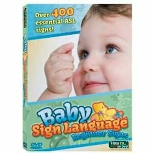 Baby-Sign-Language-Beginner-Signs-DVD-Learn-to-Communicate-with-Your-Baby-NEW