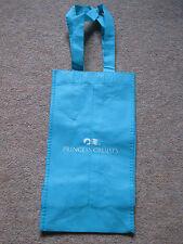 Princess Cruise Blue Lightweight Tote Bottle Bag Seawitch Logo Shopping Holds 2