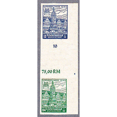SBZ Zusammendruck Mi.Nr. S Zd 8 B x b fein postfrisch und geprüft