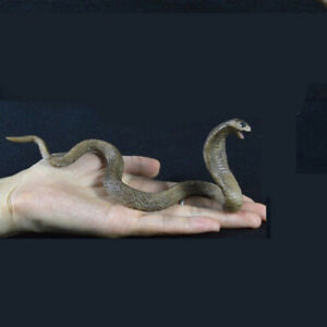 Creative Realistic Cobra Snake Replica Animal Model Kid Toy Frightening Fun Gift