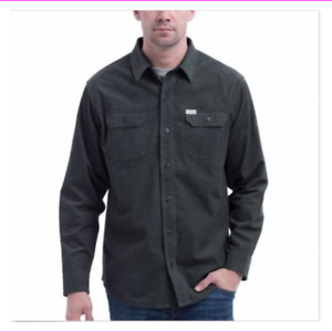 Eddie-Bauer-Mens-Shirt-Crosscut-Cord-Comfortable-Layering-Piece