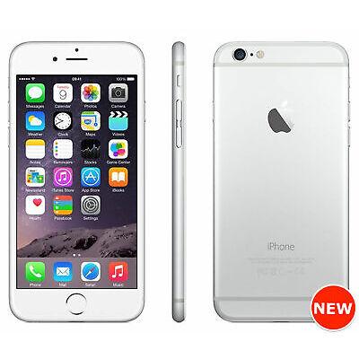 Apple iPhone 6 - 16GB, 64GB, 128GB - Silver (Unlocked) 4G LTE, Warranty, Sealed