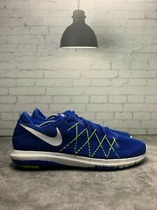 Nike-Fury-2-Sneakers-Running-Athletic-Trainers-Blue-Lightweight-Lace-Up-Size-10