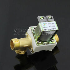 Ac220v Electric Solenoid Valve For Water 12 Electric Magnetic Valve 0mpa