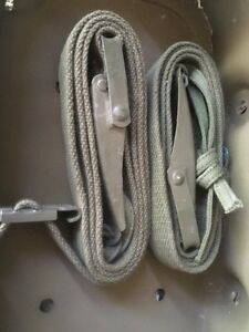 2-Webbing-straps-green-olive-drab-army-US-Military-OD