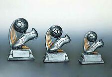 15 Figuren Fußball Fußball Schuh + Ball 13cm #187a (Pokal Pokale Gravur Turnier)