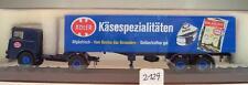 Brekina 1/87 79172 Büssing LS 11 autoarticolati Adler formaggio specialità OVP #2129