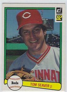 1982 DONRUSS TOM SEAVER CARD #148 CINCINNATI REDS NICE L@@K