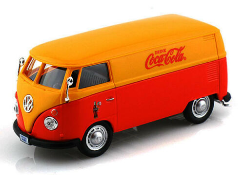 Die Cast Coca Cola 1962 VW Van 1:43 Motor City 344815