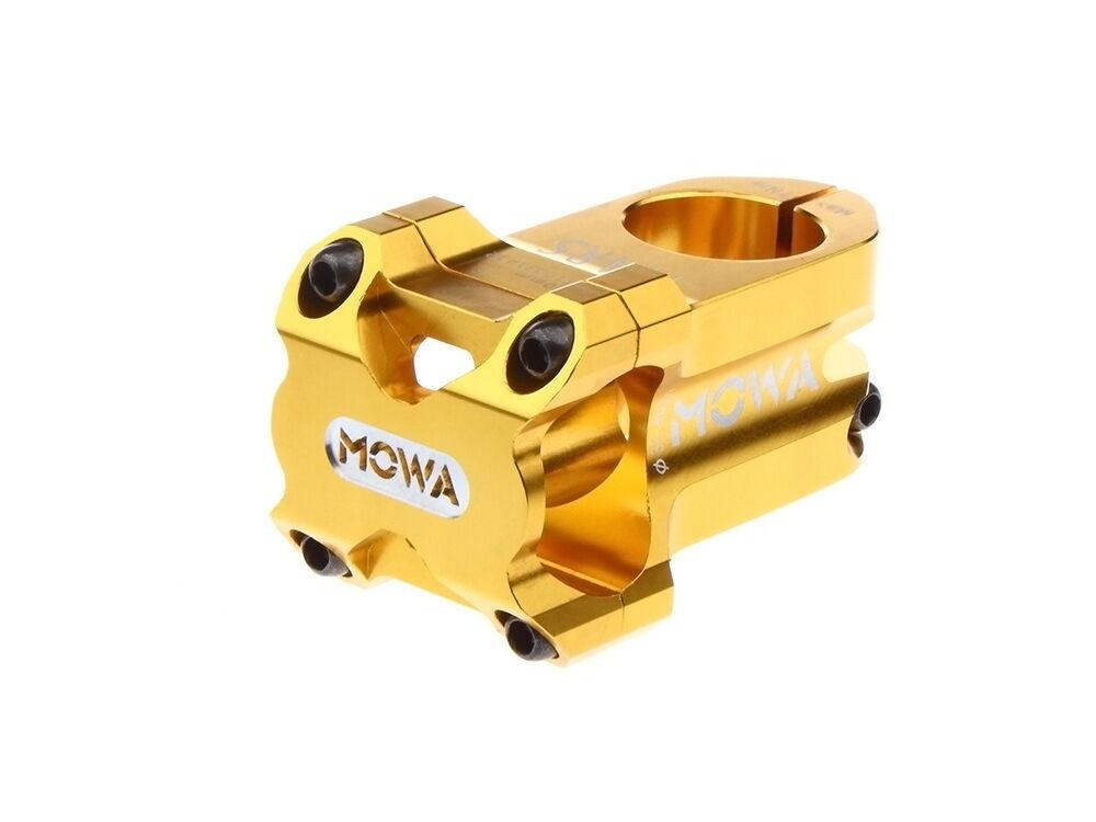 MOWA Mars Mountain Bike MTB Bicycle Stem for AM FR DH 31.8mm 50mm 176g gold