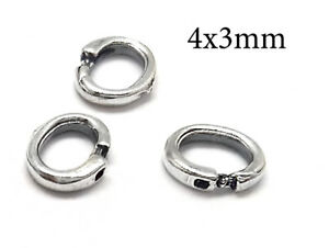10pcs-Sterling-Silver-Lock-Jump-Rings-Oval-Open-Jump-Rings-4x3mm-JBB-Findings
