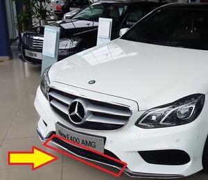 NEW GENUINE MERCEDES MB E W212 FACELIFT AMG FRONT BUMPER LOWER GRILL CENTER