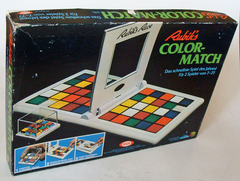 Arxon 2187-3D - Rubik`s Farbe Match 7-77 Jahren Gebraucht Used