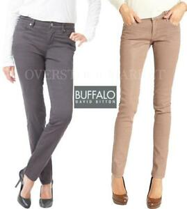 a0607066388 NEW WOMENS BUFFALO DAVID BITTON VELVET SKINNY PANT! MID RISE SLIM ...