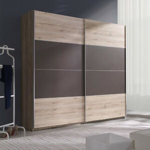 schwebet renschrank himmel i 200 kleiderschrank 5 farbe schrank schiebet r ebay. Black Bedroom Furniture Sets. Home Design Ideas