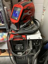 Snap On 270 A Muscle Mig Wire Feed Welder For Steel Amp Aluminum Plus Extras