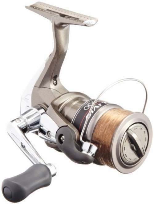 Shiuomoo reel Alibio 2500 No. 3 with thread FS from JAPAN