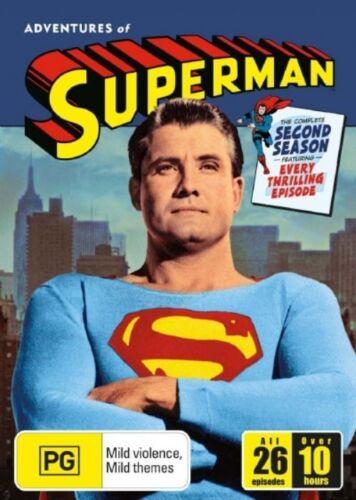1 of 1 - Adventures Of Superman : Season 2 (DVD, 2006, 5-Disc Set)