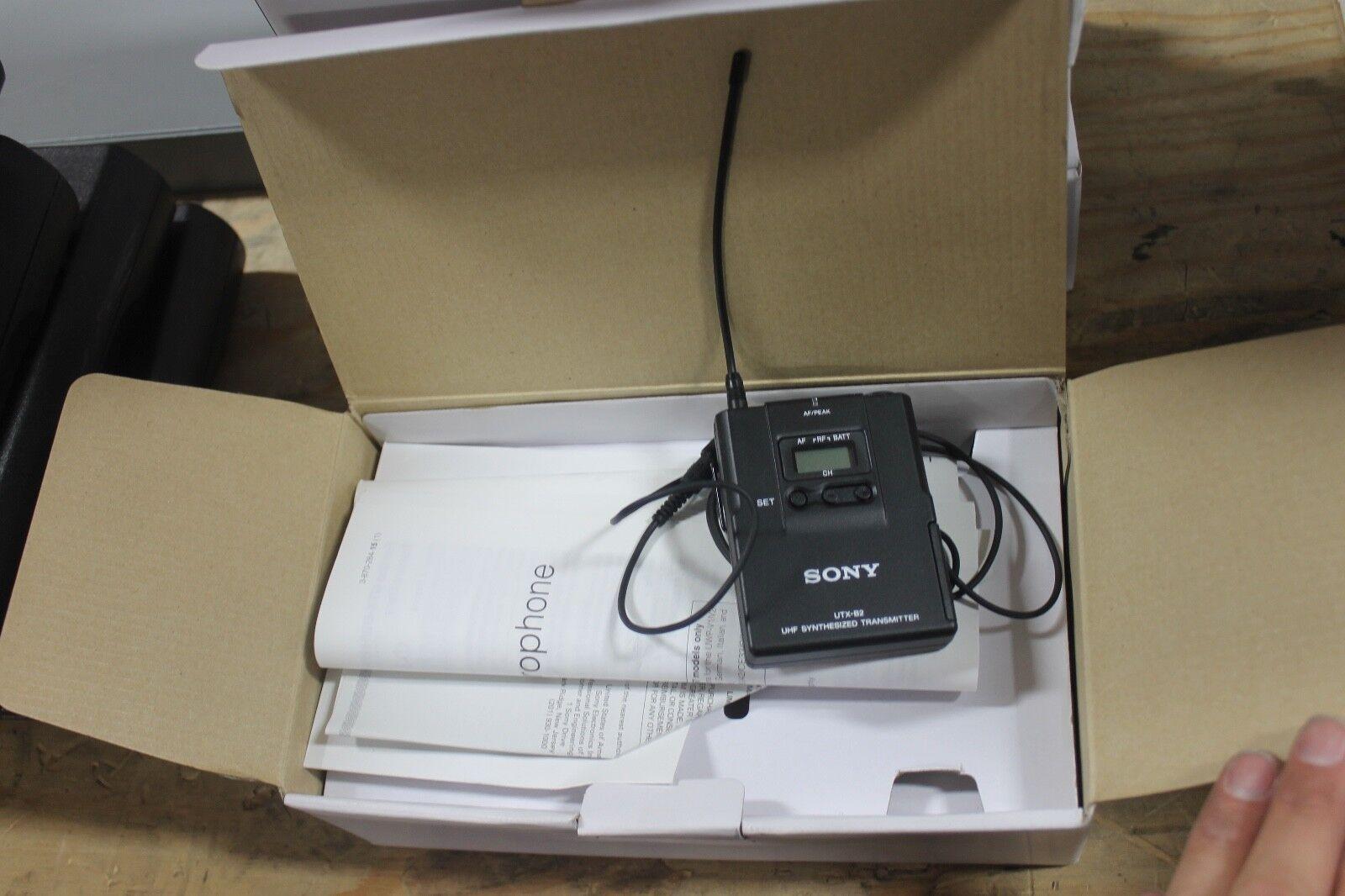 Sony  UTX-B2 Microphone UHF Transmitter