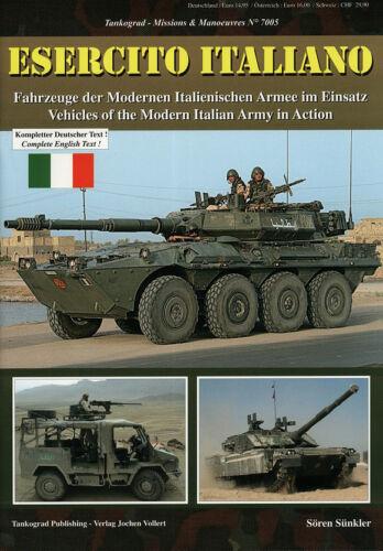 7005 ESERCITO ITALIANO-Moderne italienische Armee Tankograd NEU/&