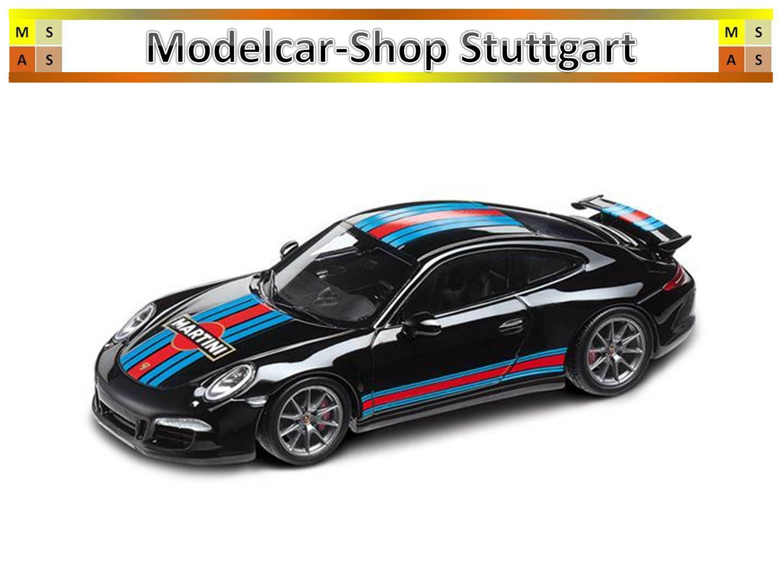 Porsche 911 Carrera S Aerokit Cup Martini Racing Noir SPARK 1 43 wap0202310g