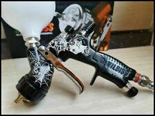 Devilbiss Spray Gun Gti Pro Lite Black 13mm Nozzle Lvmp Car Paint Tool Pistol