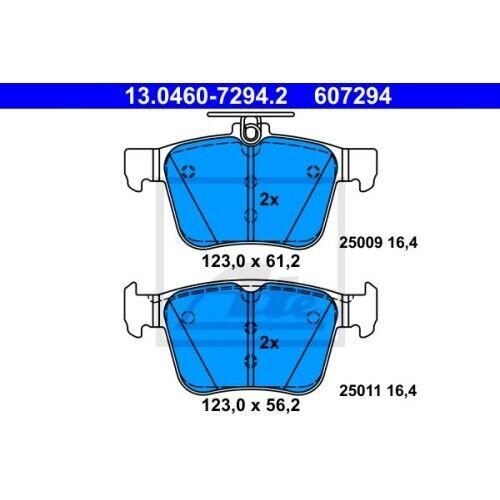 Scheibenbremse ATE 13.0460-7294.2 passend für SEAT SKODA VAG 1 Bremsbelagsatz
