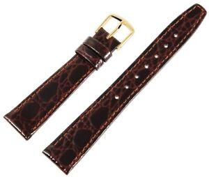 Echt-Leder-Ersatzarmband-Uhrenband-Braun-Gold-Ersatzband-X-8000019