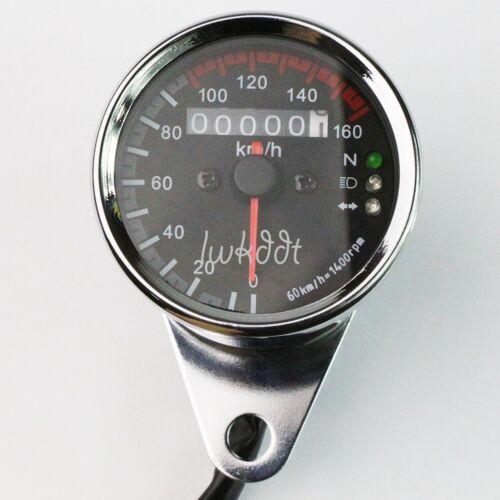 LED Speedometer /& Turn Signal For Yamaha Kawasaki Honda Suzuki Bike Cafe Racer
